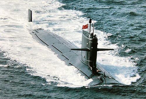 Trung Quốc khoa trương về hạm đội tàu ngầm