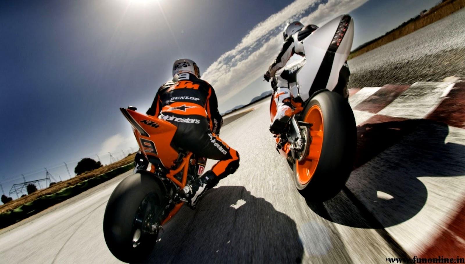 Ktm dirt bike racing