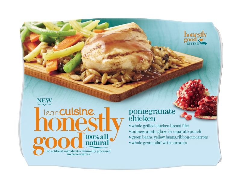 News lean cuisine new honestly good meals brand eating for Are lean cuisine meals good for you