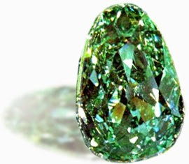 Carat Uncut Green Topaz Steel Silver Ring