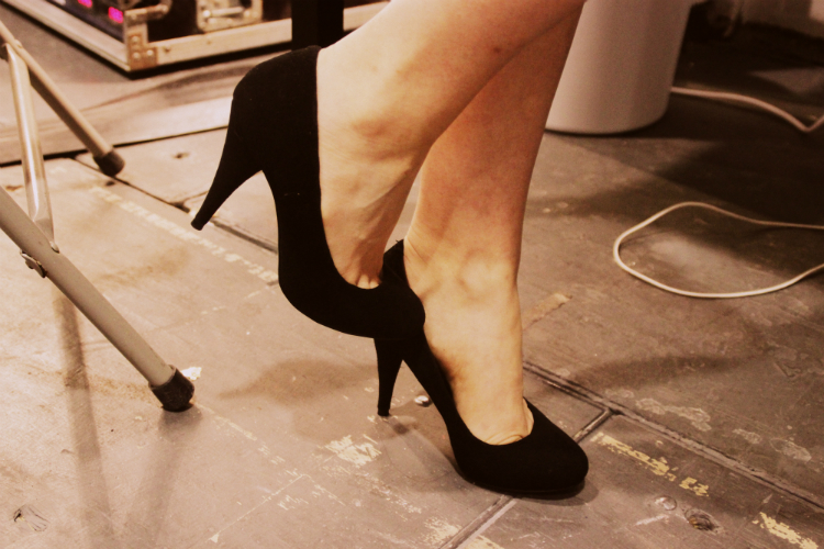 highheels skinny inspraition backstage