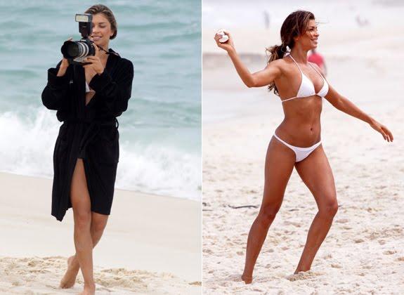 Grazi Massafera grava comercial na Praia da Barra   Blog Interativo 0898e01f68