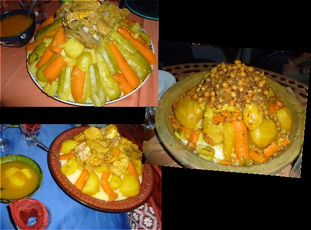 image Découvertes culinaires du Maroc : couscous