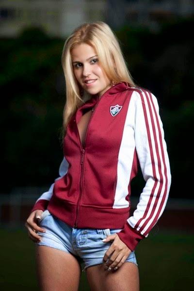 Candidata à Bela do Fluminense 2012 - Vanessa Mendonça
