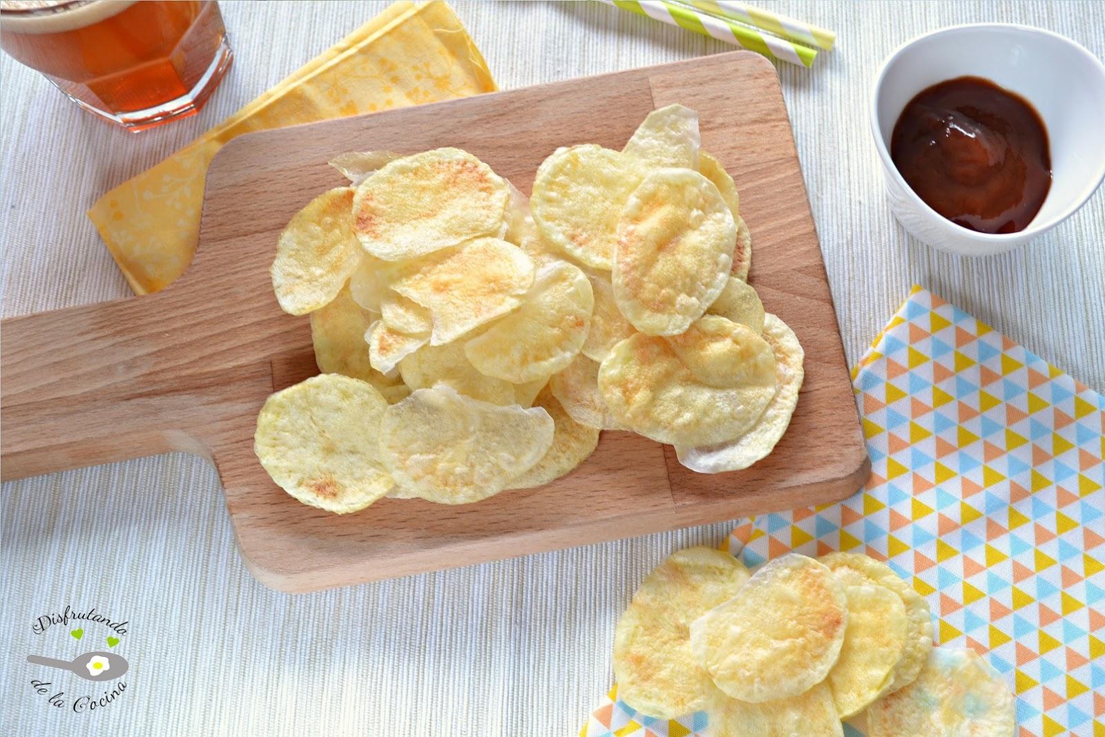 Disfrutando de la cocina patatas chips al microondas - Cocina al microondas ...