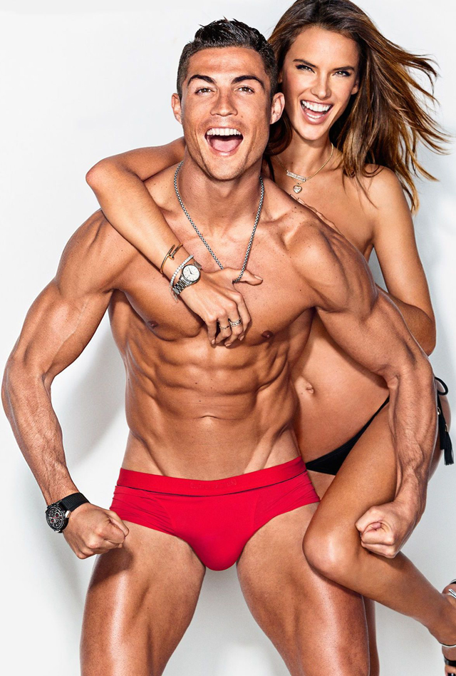 Cristiano Ronaldo y Alessandra Ambrosio juntos