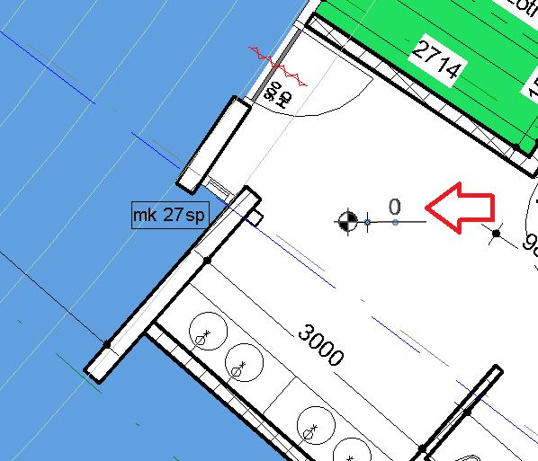 Spot Elevation Plan Revit : Revit tips spot elevation in plattegrond met color scheme