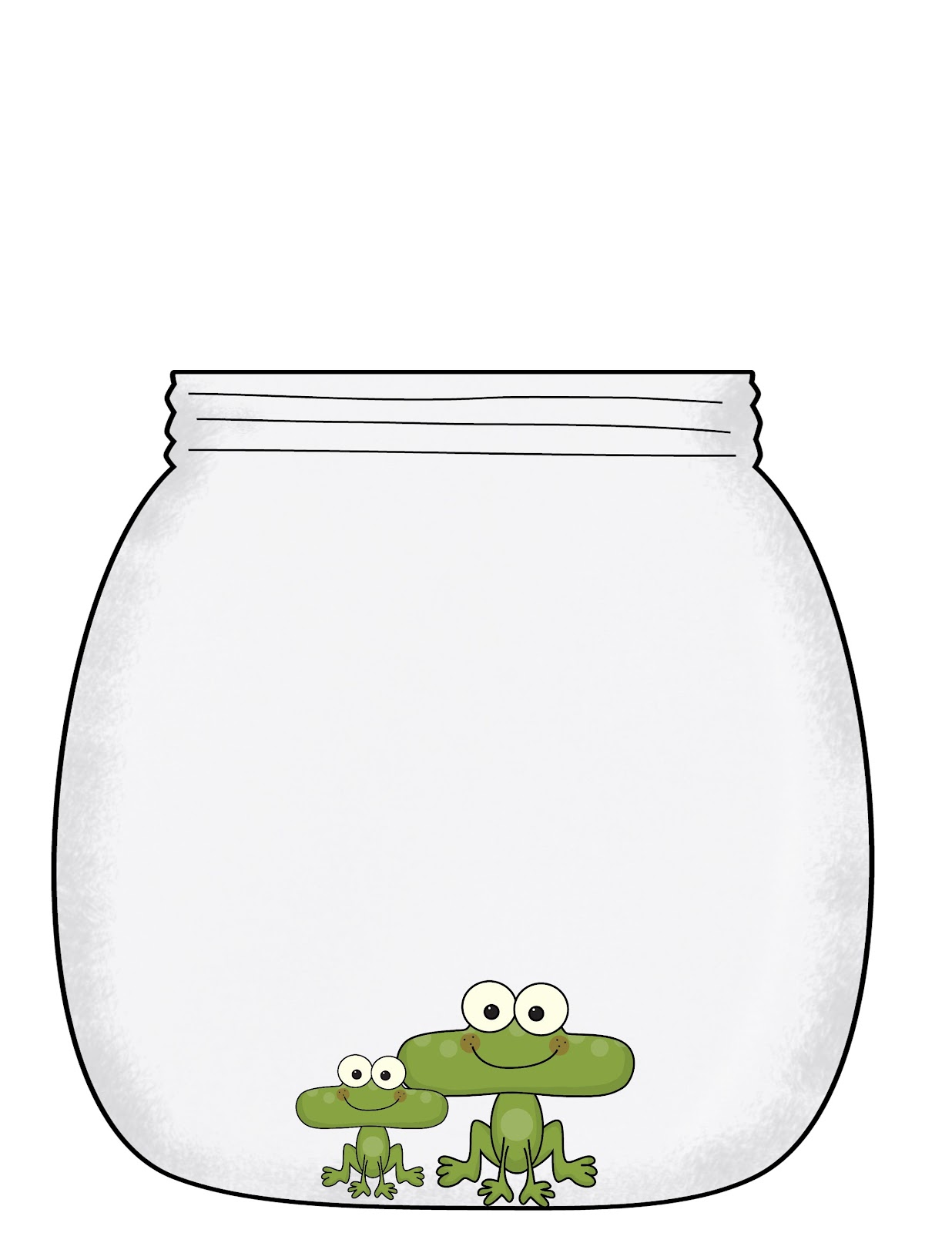 Free Bug Jar Printable