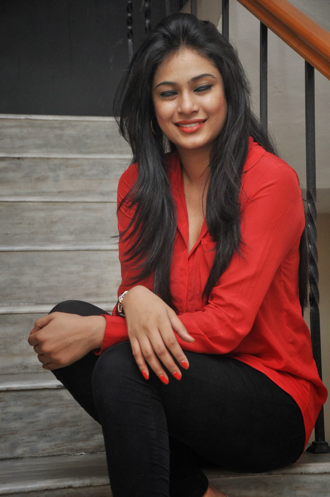 hot sexy Zara shah photo gallery in red top and black jeans Bollywood, Tollywood, foxy, perfect, hot sexy actress sizzling, image gallery