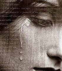 lágrima para Cosas que siento