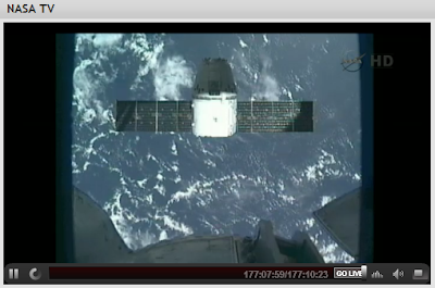Dragon and Solar Arrays