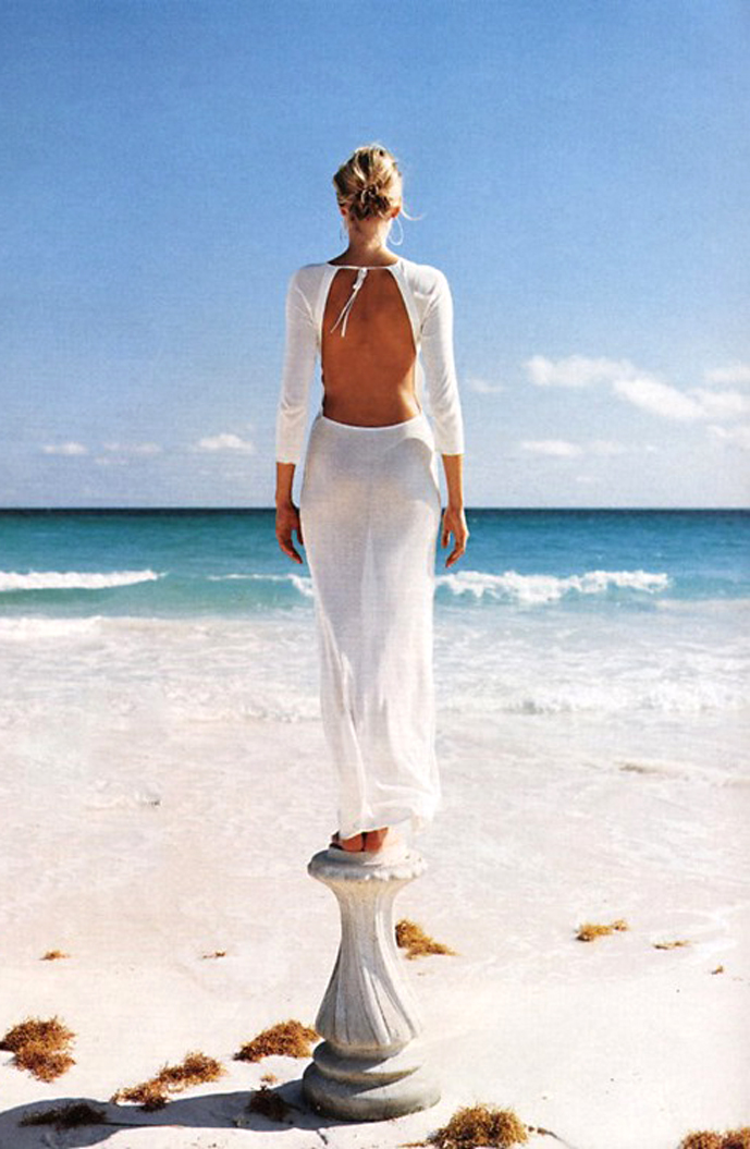 Glamour US April 2002 (photography: Walter Chin) via fashioned by love