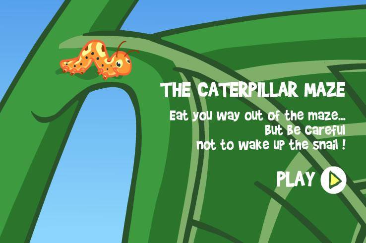 Kids Game : Catterpillar Maze