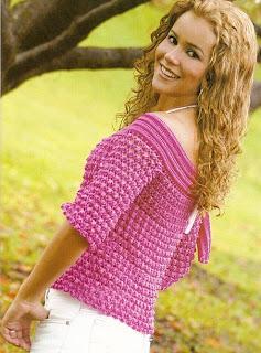 blusa en crochet paso a paso