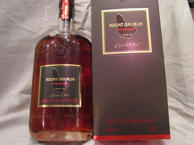 Mount Gay Extra Old rum begins its life like most other rums, ...