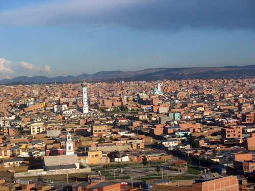 Estadísticas de vivienda en El Alto, Bolivia