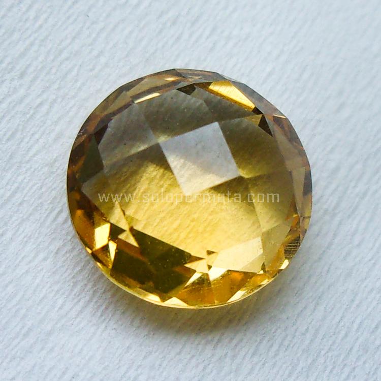 Batu Permata Yellow Citrine - SP956