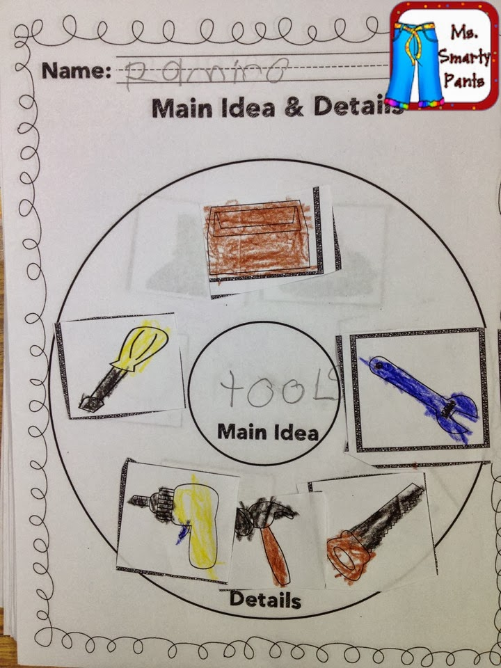 Ms. Smarty Pants : Main Idea