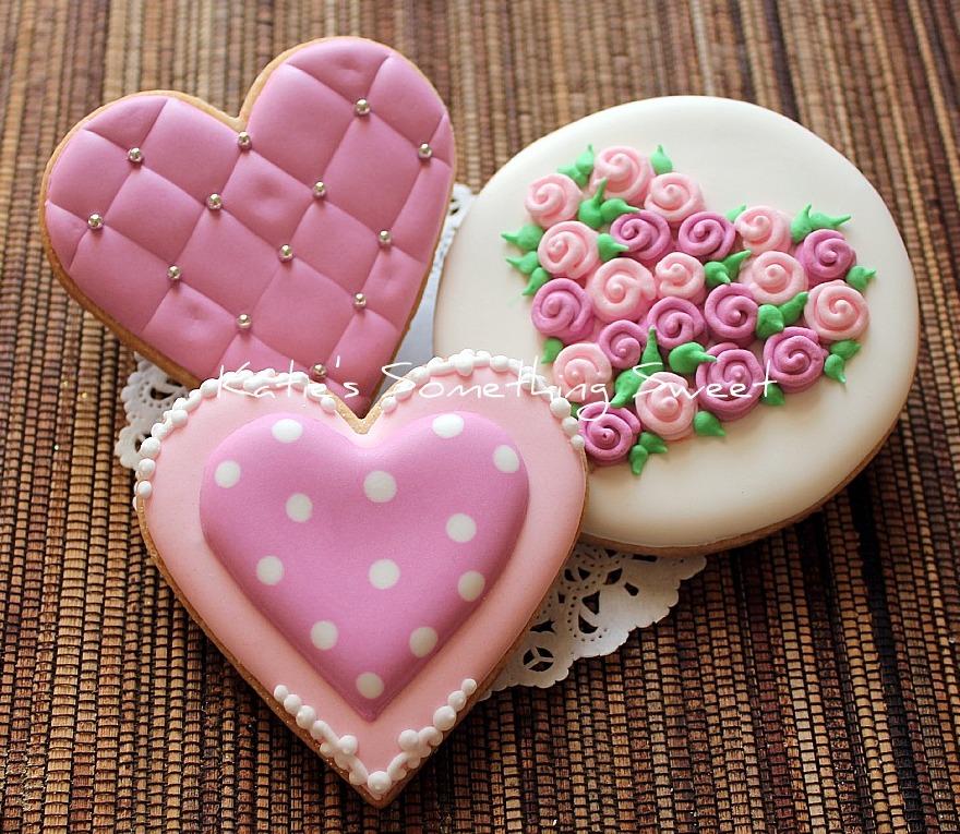 Valentines Cookies {Katie's So...