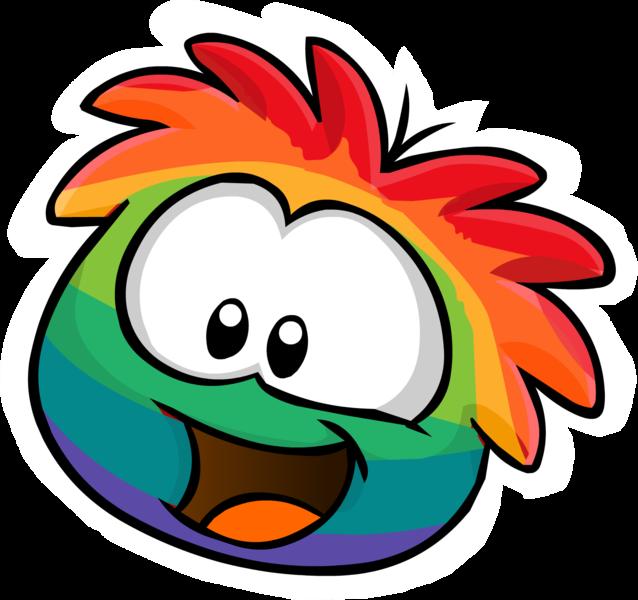 Puffle multicolor formul 225 rio para assinantes 1 ir ao hotel puffle