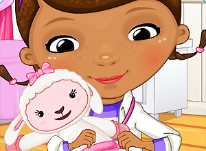 Doc McStuffins Lamb Injury