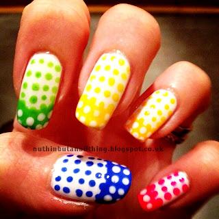 Lumo nail dotting