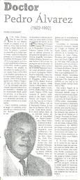 DOCTOR PEDRO ÁLVARES