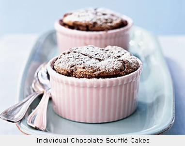 Chocolate Souffle Cake (Low Fat)
