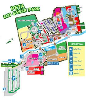 Peta Eco Green Park Batu