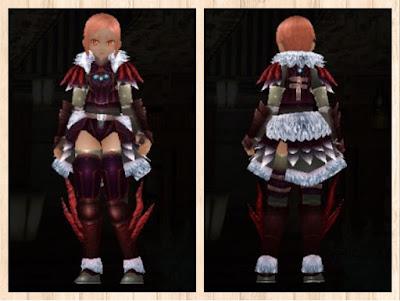 森狼の衣 小豆色1+茶色2+赤3