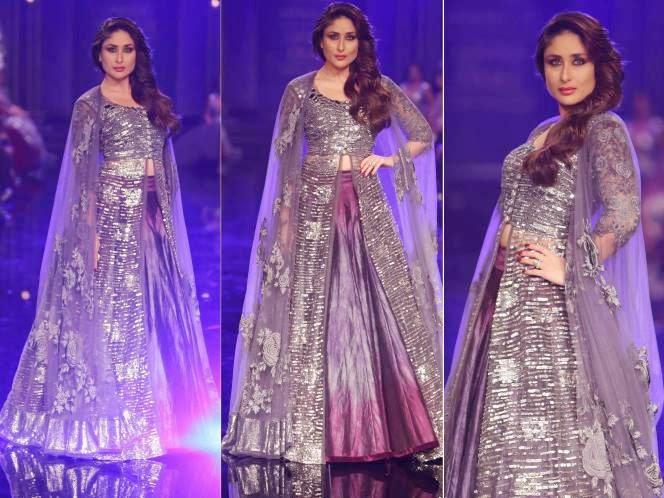 Kareena Kapoor in Lakme Fashion Week 2014
