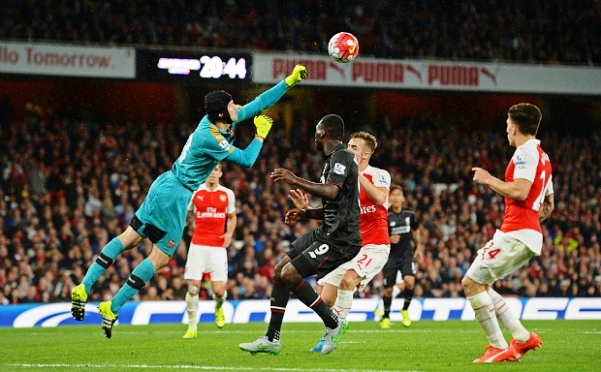 Petr Cech Man Of The Match Arsenal vs Liverpool 0-0