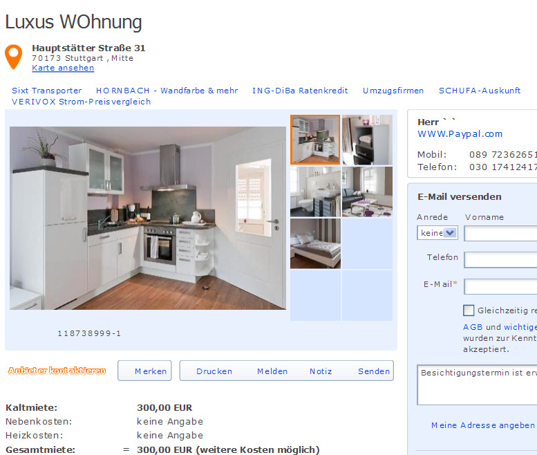 szhiltz392 viele wohnungen vorkassebetrug. Black Bedroom Furniture Sets. Home Design Ideas