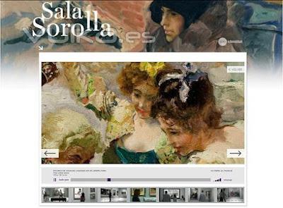 Sala+Interactivo+Joaquin+Sorolla+Valencia 42 obras de Joaquín Sorolla   Museo de Bellas Artes de Valencia