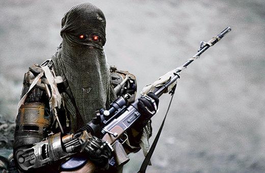 terminator sharpshooter por DarkMatteria