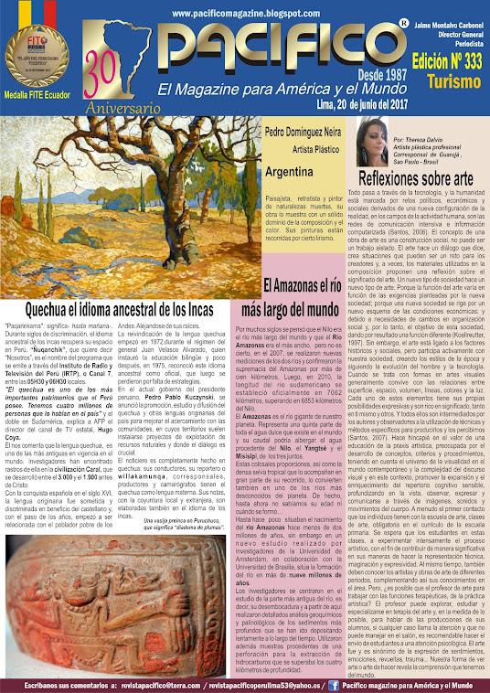 Revista Pacífico Nº 333 Turismo