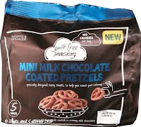 M&S Guilt Free Snacking Mini Choc Pretzels