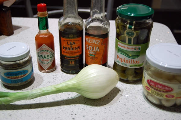 ingredientes macerar tartar atun