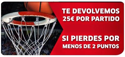marca apuestas bono 25 euros Devolución Mundobasket
