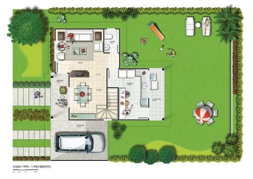 Plantas de Casas Grandes e Modernas – Dicas e Modelos