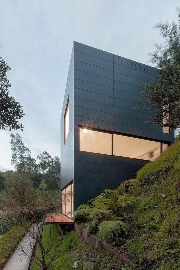 Galeri ide Rumah Balkon Modern 2015 yang inspiratif