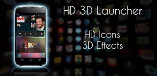 HD 3D Launcher PRO Apk - Aplikasi Lancher Android terbaru
