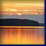 песня карельского счастья: высокое небо, чудесный вечер и прекрасное урас - озеро!