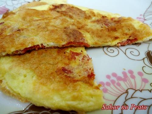 Omelete fácil de fazer.