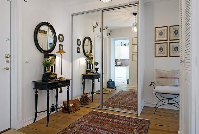 Noir blanc un style for Decoration appartement ancien