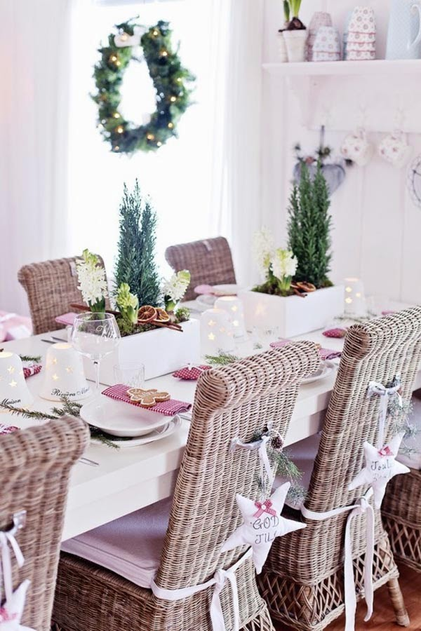 Design in colours christmas dining ideas how to decorate