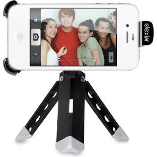 Dexim ClikStik kamerastativ och fjärrutlösare för iPhone