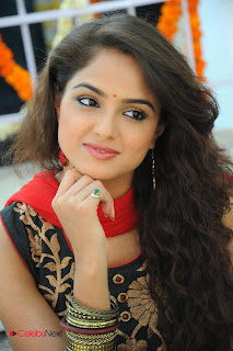 Asmita Sood Latest Pictures in Salwar Kameez at at Aa Aiduguru Movie Opening 0009