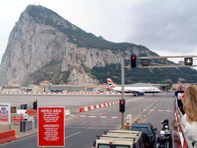 Gibraltar Airport Runway