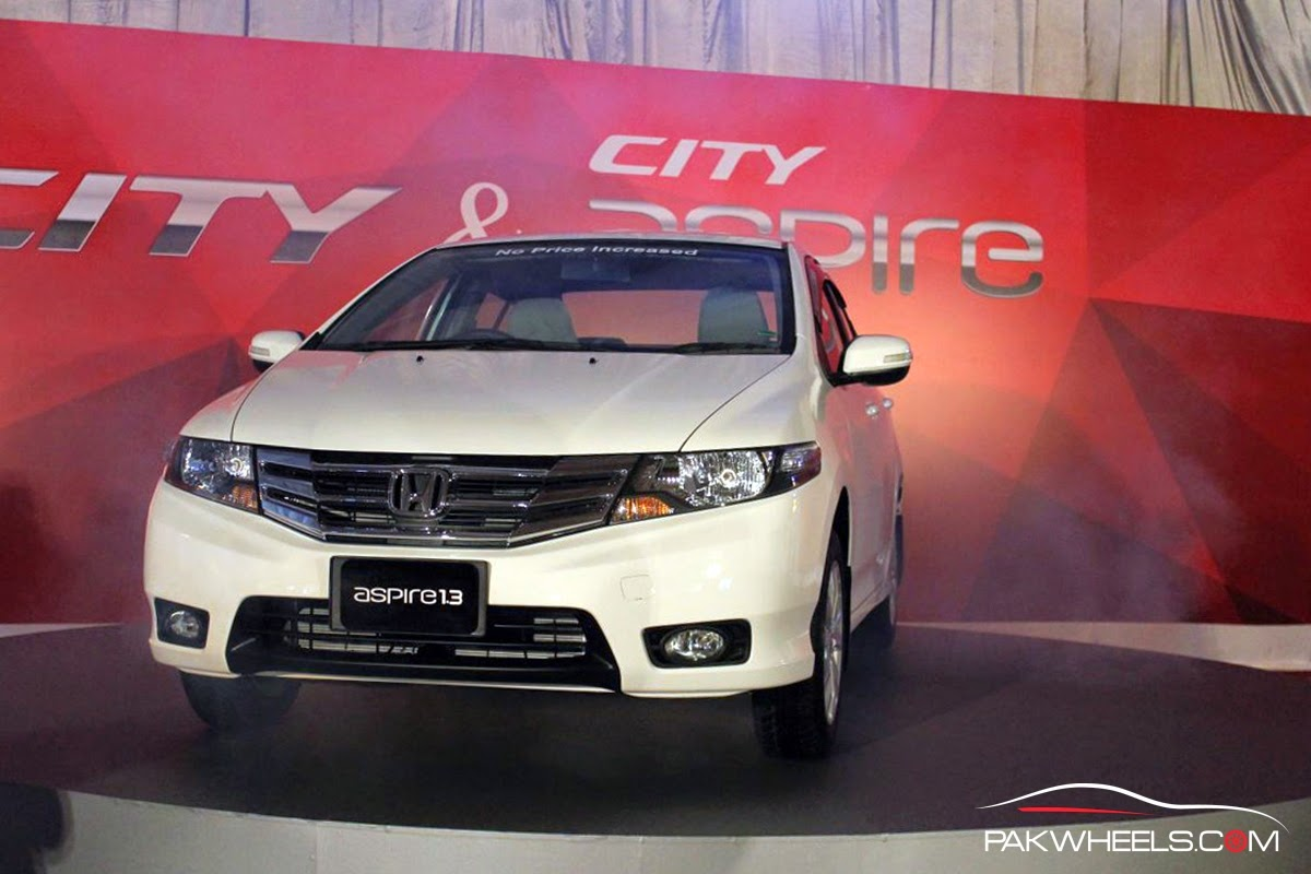 we are delighted to launch the evolved honda city and aspire in the pakistani market without any price increase the more exciting and satisfying news is
